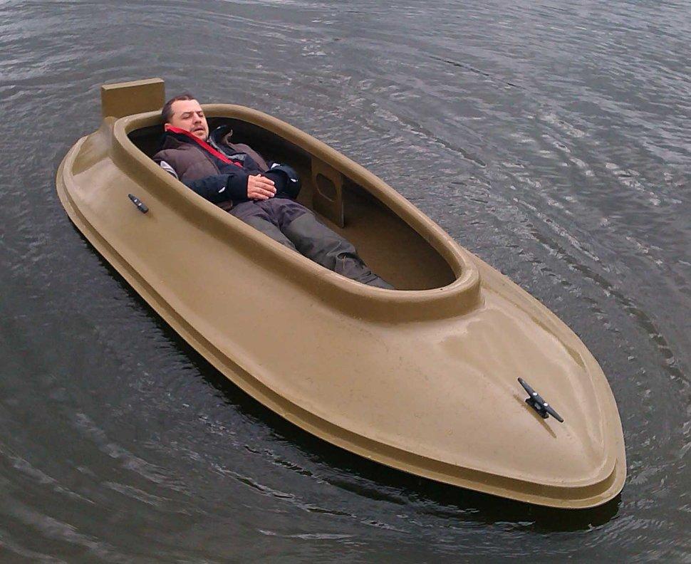 лодка скрадок для утиной охоты