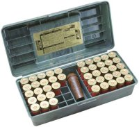 Коробка MTM Shotshell Case на 50 патронов кал. 12/76. Цвет – камуфляж.