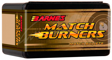 Пуля Barnes FB Match Burner кал. 22 масса 3,37 г/52 гран