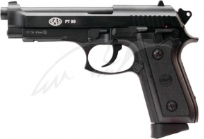 Пистолет пневматический SAS (Taurus PT99) Blowback. Корпус - металл
