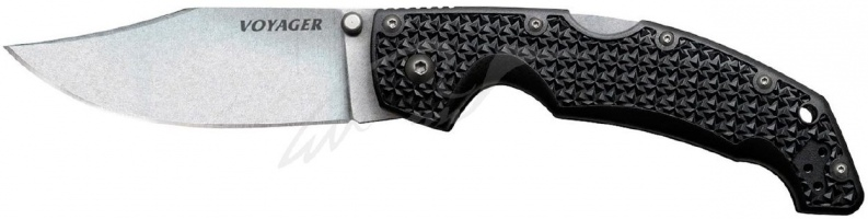Нож Cold Steel Voyager Large Clip Point ц: черный