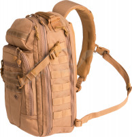 Рюкзак First Tactical Crosshatch Sling Pack. Цвет - coyote