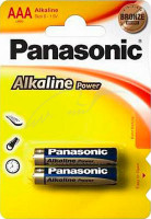 Батарея Panasonic ALKALINE POWER AАA BLI 2