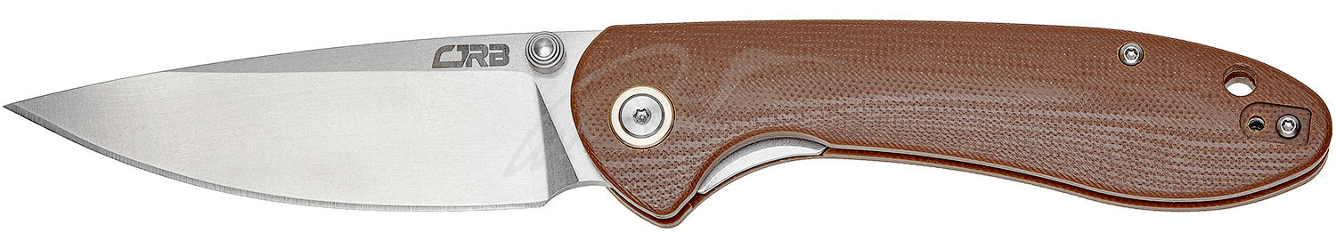 Нож CJRB Feldspar G10 Brown