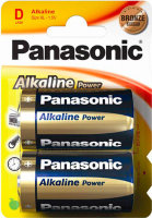 Батарея Panasonic ALKALINE POWER D BLI 2